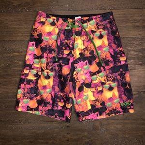 Nike 6.0 Boys Board Shorts Swim Trunks  Size 8